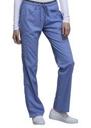 Błękitne spodnie medyczne Cherokee Luxe CK003
