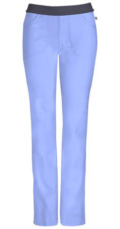 Antybakteryjne damskie spodnie medyczne błękitne    Cherokee Infinity 1124A