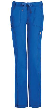 Antybakteryjne damskie spodnie medyczne niebieski Code Happy 46000A