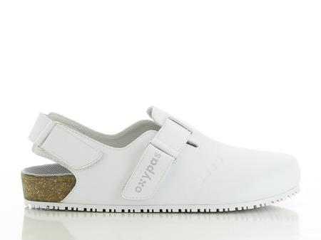 Antybakteryjne obuwie medyczne damskie Oxypas Bianca