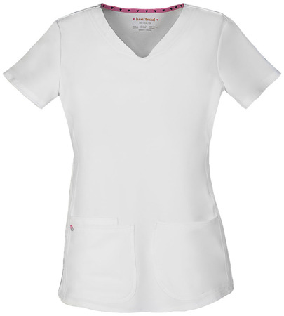 Biała bluza medyczna damska Heartsoul 20710