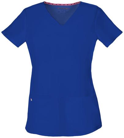 Bluza medyczna damska niebieski royal Heartsoul 20710
