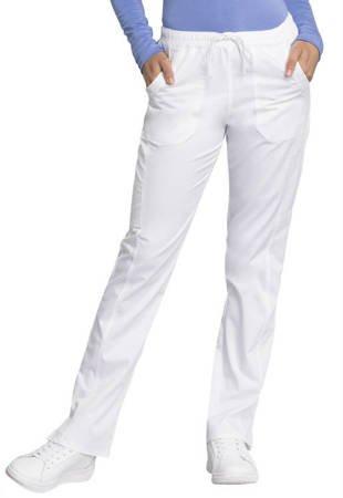 Damskie spodnie medyczne WW235AB Białe
