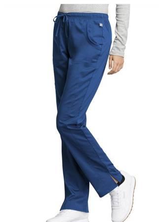 Damskie spodnie medyczne WW235AB Szafirowe