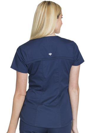 Granatowa bluza medyczna Cherokee Luxe CK603 Sport