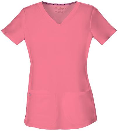 Koralowa bluza medyczna damska Heartsoul 20710