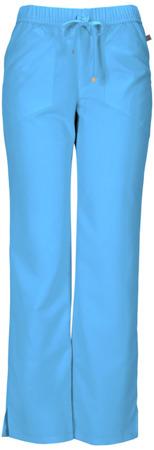 Spodnie medyczne damskie turkusowe Heartsoul 20102A